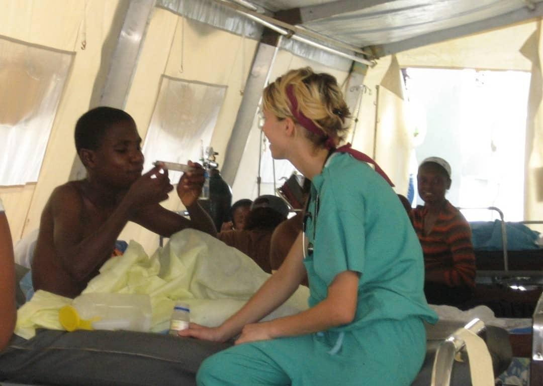 Rachel in Haiti